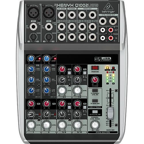 Behringer Xenyx Q1002USB Mixer-thumbnail