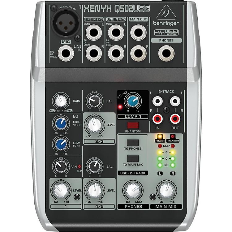 BehringerXenyx Q502USB Mixer