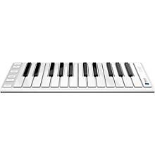CME Xkey Air Wireless Bluetooth Mobile Keyboard Controller Level 1 Silver 25 Key
