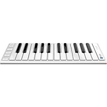 CME Xkey Air Wireless Bluetooth Mobile Keyboard Controller Silver 25 Key