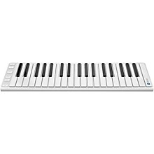 CME Xkey Air Wireless Bluetooth Mobile Keyboard Controller Silver 37 Key
