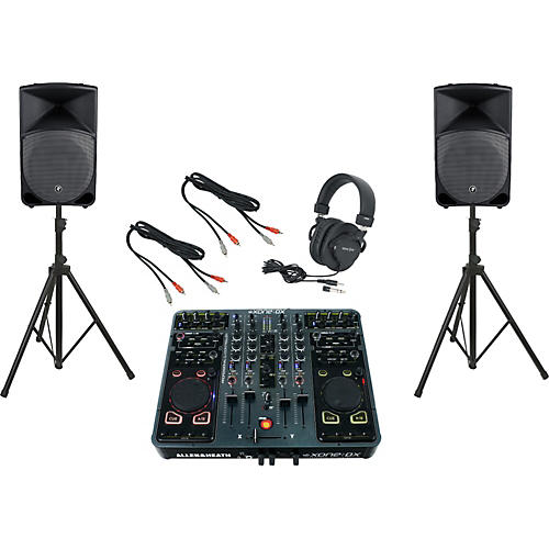 Allen & Heath Xone:DX / Mackie Thump TH-15A DJ Package