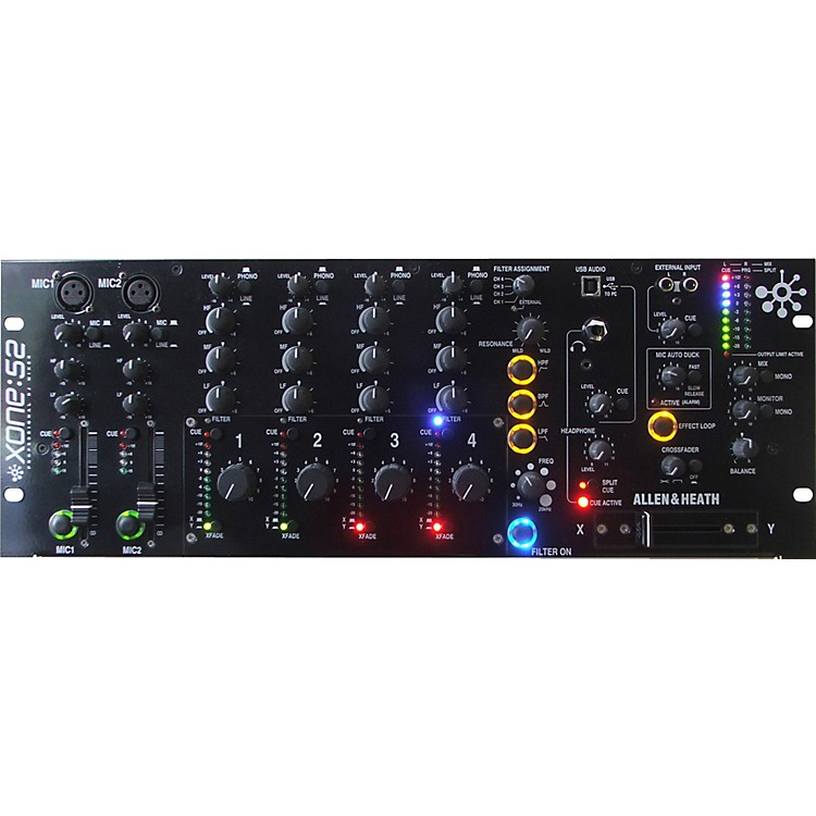 Allen & Heath Xone:S2R Installation/DJ Mixer (Rotary Faders)