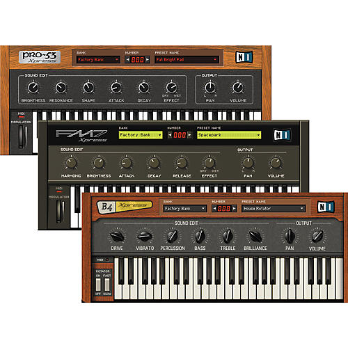 Native Instruments Xpress Keyboards Software Instruments