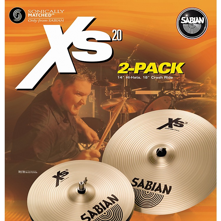 SabianXs20 2-Pack - 14