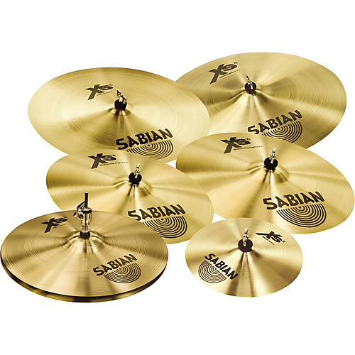sabian xs20 complete cymbal set musician 39 s friend. Black Bedroom Furniture Sets. Home Design Ideas
