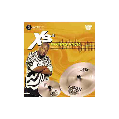 Sabian Xs20 Effects 2-Pack - 18