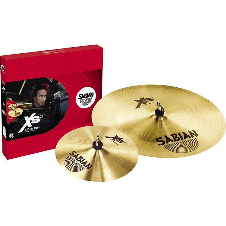 Sabian Xs20 Effects Cymbal Pack, Brilliant