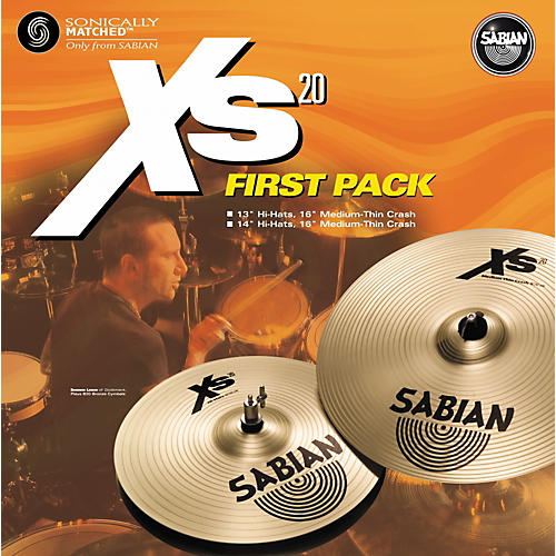 Sabian Xs20 First Pack - 13