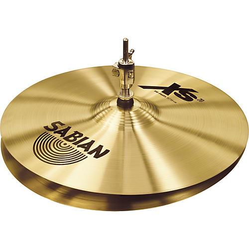 Sabian Xs20 Medium Hi-hat Cymbals, Brilliant 13 in.
