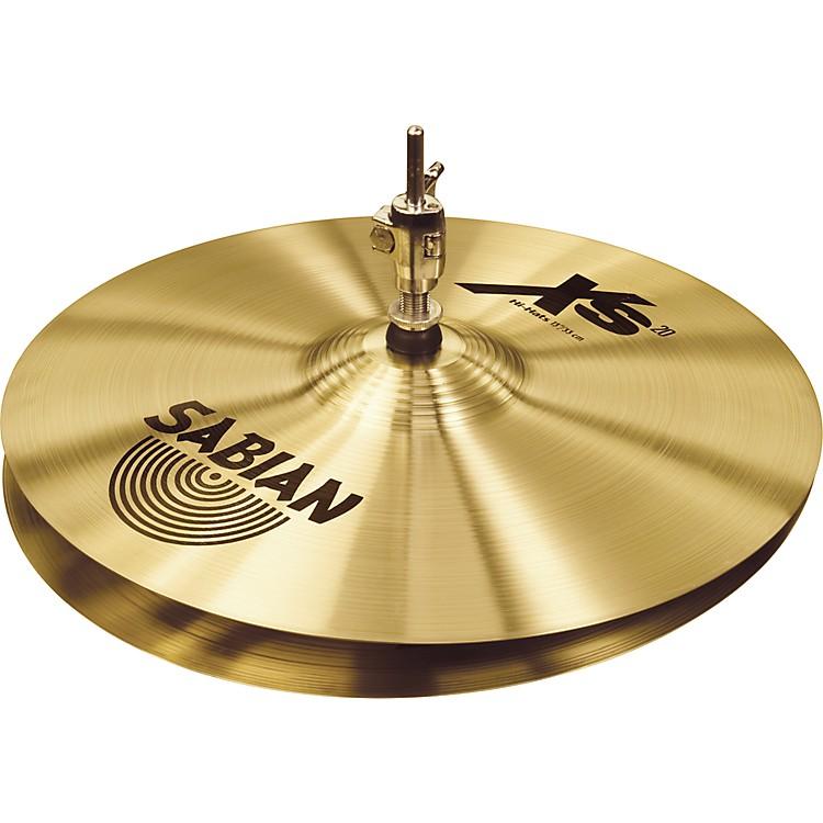 SabianXs20 Medium Hi-hat Cymbals, Brilliant13