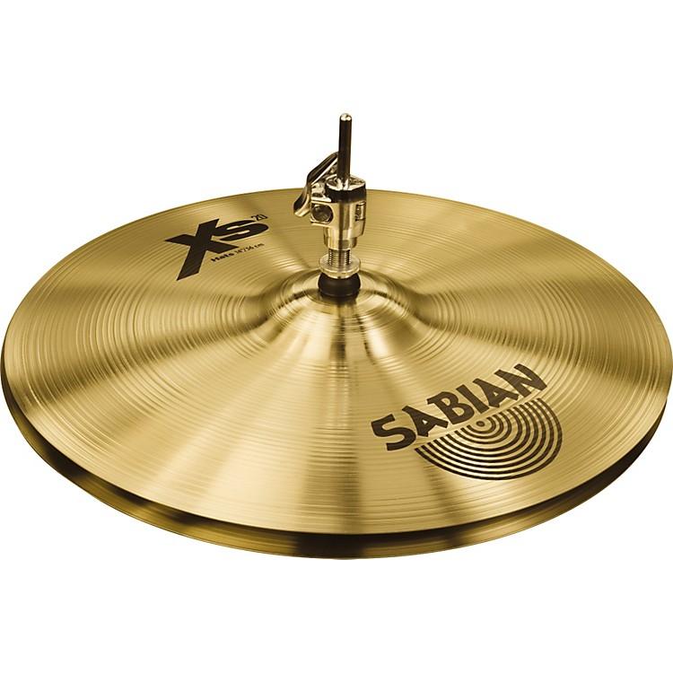 SabianXs20 Medium Hi-hat Cymbals, Brilliant