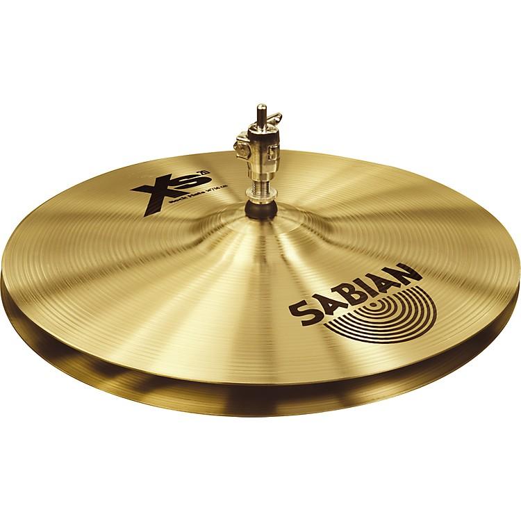SabianXs20 Rock Hi-hat Cymbals, Brilliant14