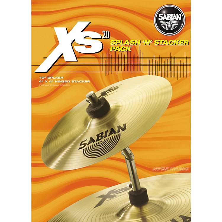 SabianXs20 Splash 'N' Stacker Cymbal Pack10