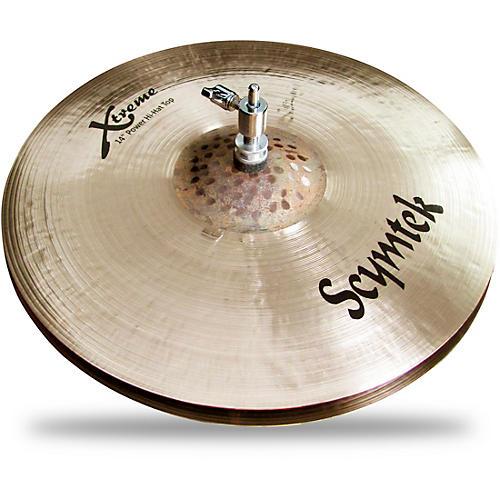 scymtek cymbals xtreme power hi hat 14 in pair musician 39 s friend. Black Bedroom Furniture Sets. Home Design Ideas