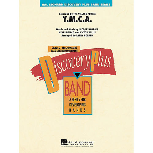 Hal Leonard Y.M.C.A. - Discovery Plus Concert Band Series arranged by Larry Norred