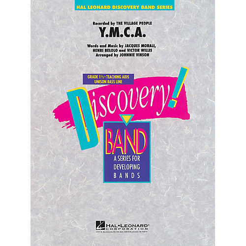 Hal Leonard Y.M.C.A. Concert Band Level 1.5 by The Village People Arranged by Johnnie Vinson-thumbnail