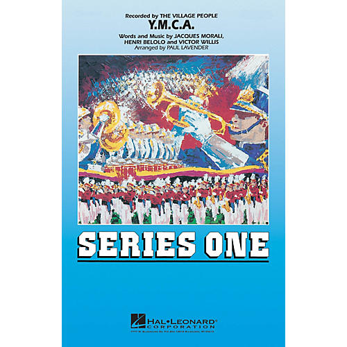 Hal Leonard Y.M.C.A. Marching Band Level 2 by The Village People Arranged by Paul Lavender-thumbnail