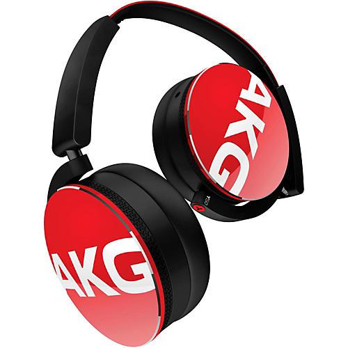 AKG Y50 On-Ear Headphone Red