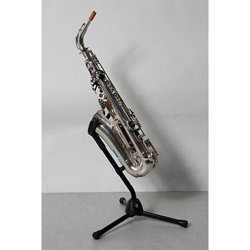 Open box yamaha yas 26 standard alto saxophone silver for Yamaha student saxophone