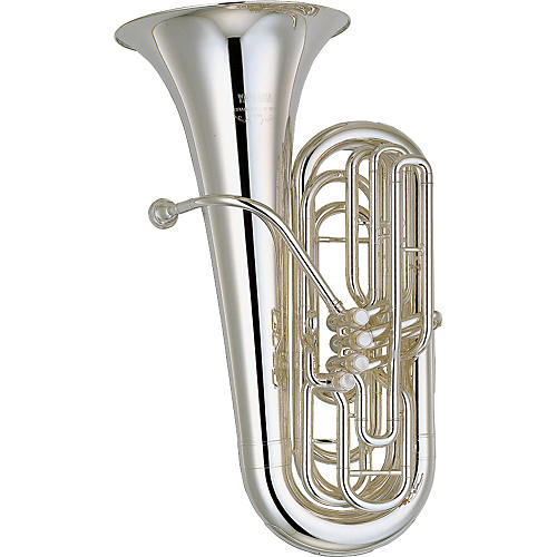 Yamaha YBB-621 Series 4-Valve 3/4 BBb Tuba Silver