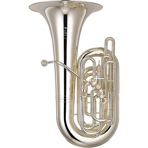 Yamaha YCB-822 Series Professional 4/4 CC Tuba Silver