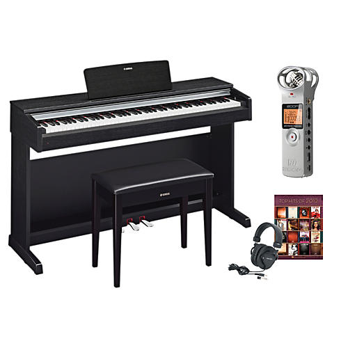 Yamaha ydp 142 digital piano package 1 musician 39 s friend for Yamaha digital piano dealers