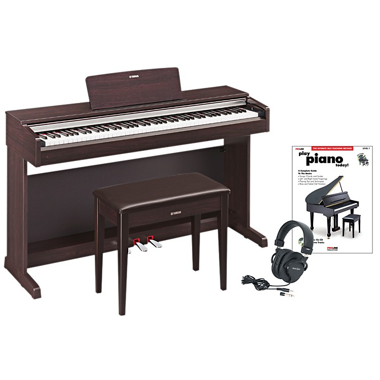 yamaha ydp 142 digital piano package 2 musician 39 s friend. Black Bedroom Furniture Sets. Home Design Ideas
