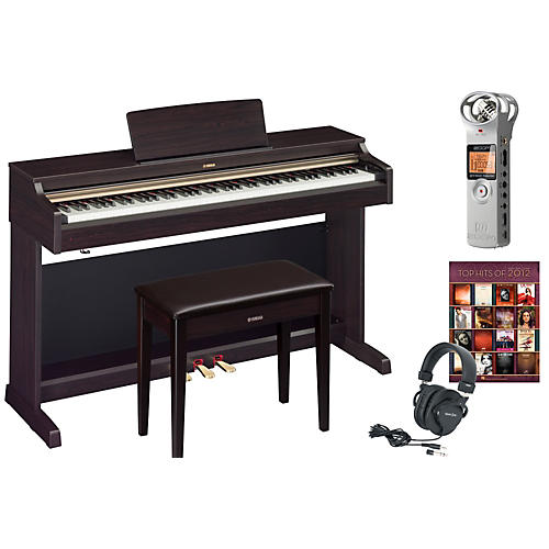Yamaha ydp 162 digital piano package 1 musician 39 s friend for Yamaha ydp 113 for sale