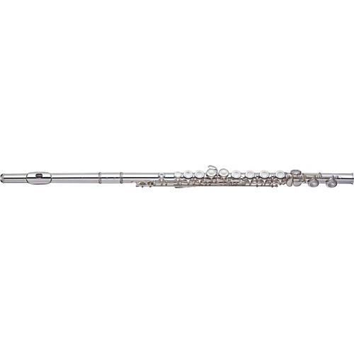 Yamaha YFL-421 Intermediate Flute Sterling Silver Head, Body And Foot, Plateau Keys