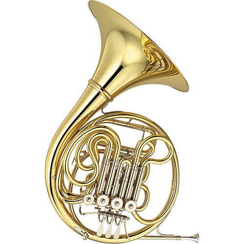 Yamaha YHR-667D Professional French Horn-thumbnail