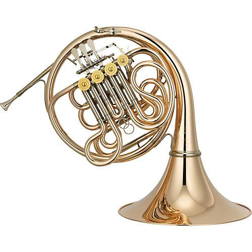 Yamaha YHR-871GD Custom Series Double Horn, Detachable Gold Brass Bell-thumbnail