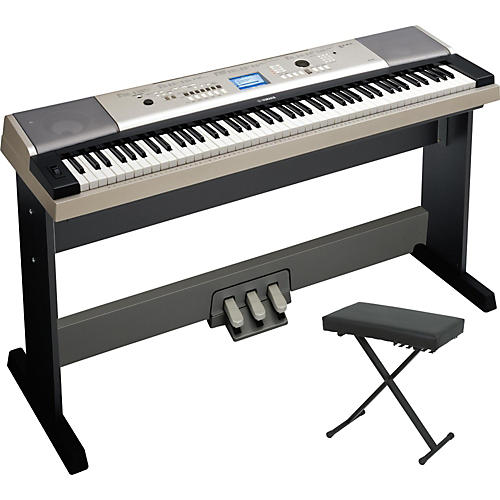 Yamaha ypg 535 88 key portable grand piano packages for Yamaha ypg 535