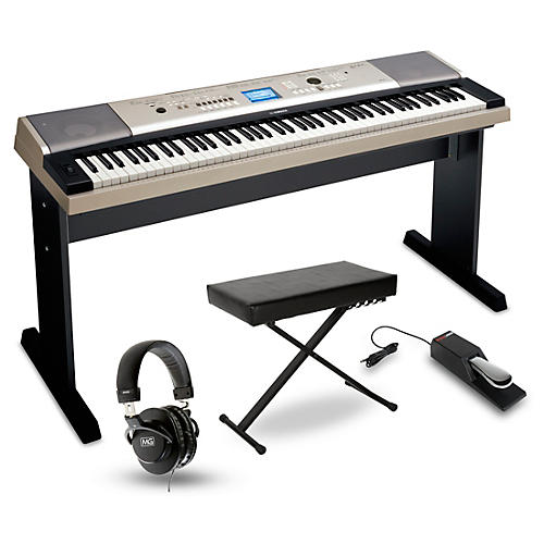 yamaha ypg 535 88 key portable grand piano packages home