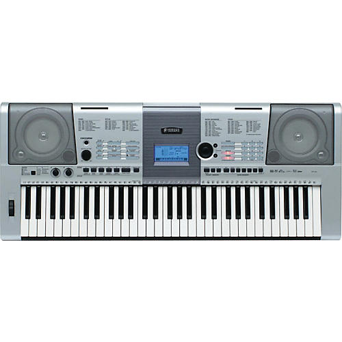 Yamaha ypt 410 61 key portable keyboard musician 39 s friend for Yamaha learning keyboard