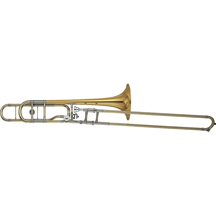 Yamaha YSL-882O Xeno Series F Attachment Trombone Lacquer Gold Brass Bell