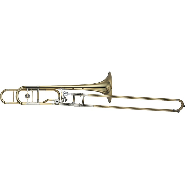 Yamaha YSL-882O Xeno Series F Attachment Trombone Lacquer Yellow Brass Bell