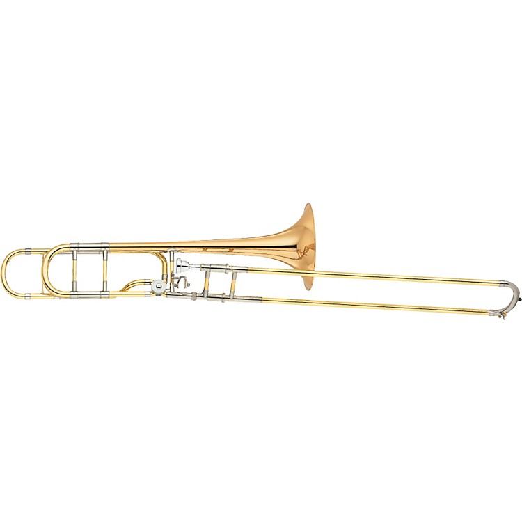 Yamaha YSL-882OR Xeno Series F Attachment Trombone Gold Brass Bell