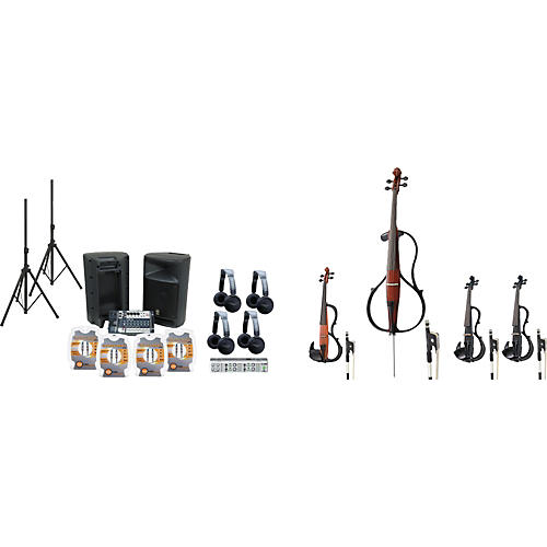 Yamaha YSQ3 Electric String Quartet-thumbnail