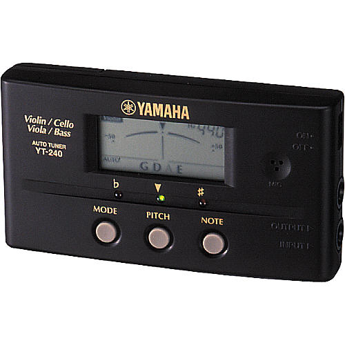 Yamaha YT-240 String Instrument Tuner-thumbnail