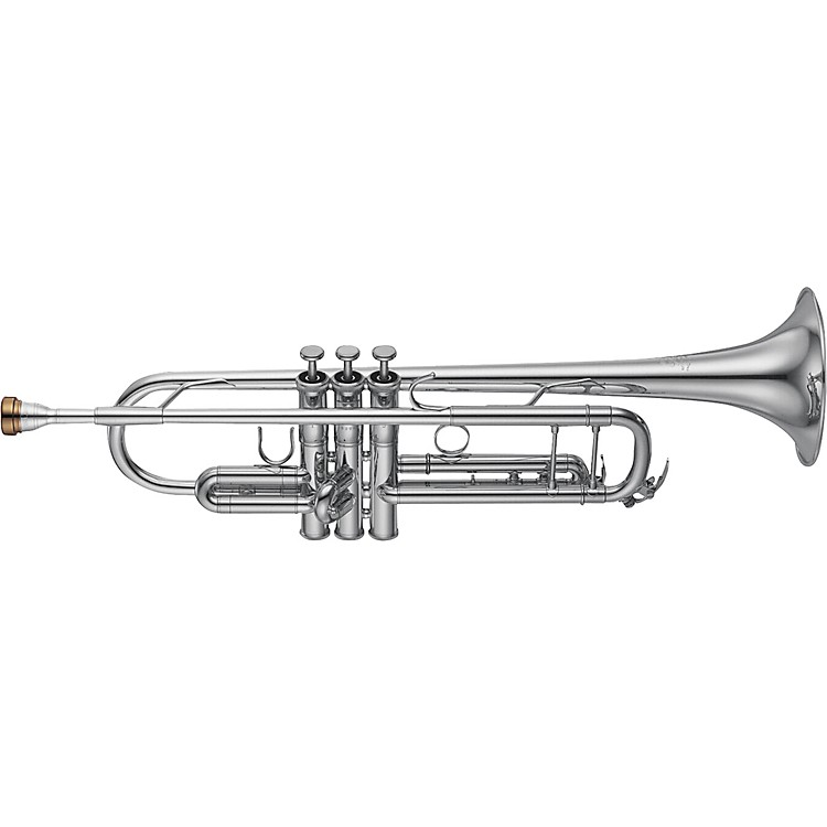 Yamaha YTR-8345 Xeno Series Bb Trumpet Silver Yellow Brass Bell
