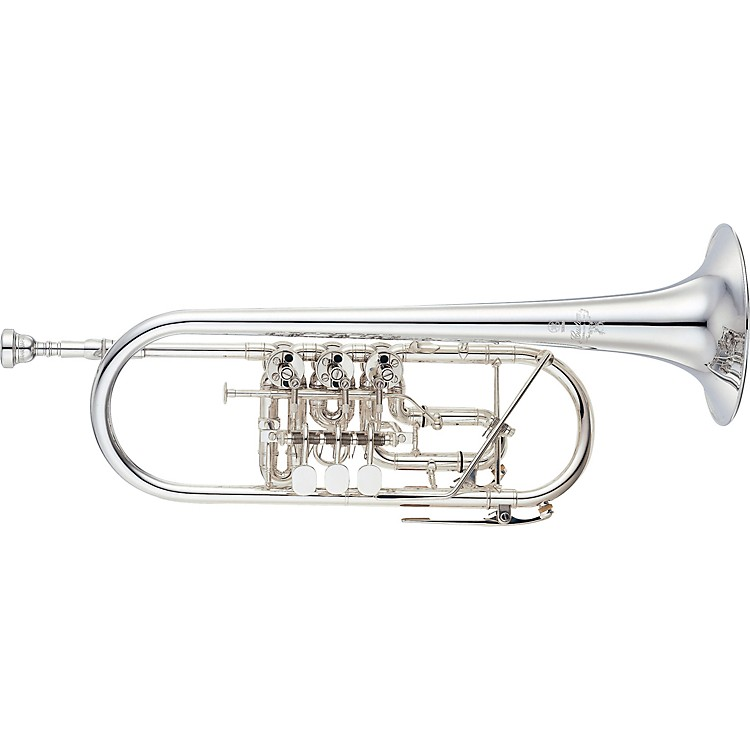 YamahaYTR-948FFMS Custom Series Rotary C TrumpetSilver