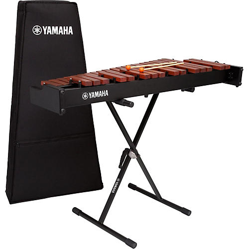 Yamaha yx 230 3 octave xylophone with bag and stand musician 39 s friend for Yamaha 3 octave keyboard