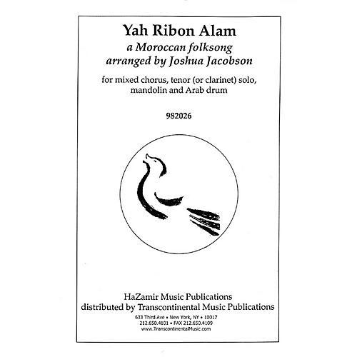 Transcontinental Music Yah Ribon Alam SATB arranged by Joshua Jacobson-thumbnail