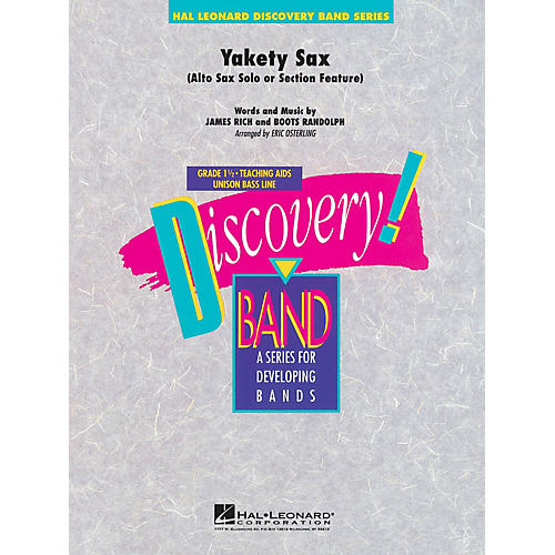 Hal Leonard Yakety Sax Concert Band Level 1.5 Arranged by Eric Osterling-thumbnail