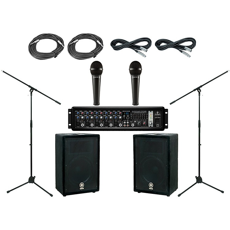 Behringer Yamaha BR10 PA Package