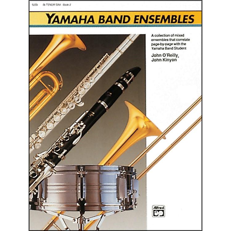 AlfredYamaha Band Ensembles Book 2 Piano Acc./Conductor's Score