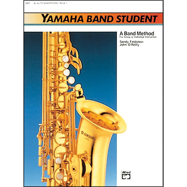 AlfredYamaha Band Student Book 1 E-Flat Alto Saxophone