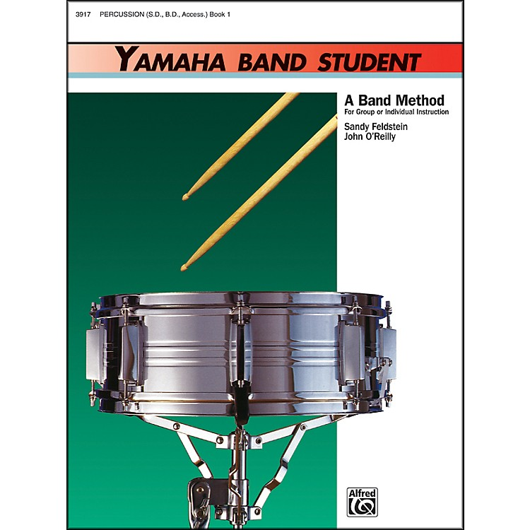 Alfred Yamaha Band Student Book 1 PercussionSnare Drum Bass Drum & Accessories