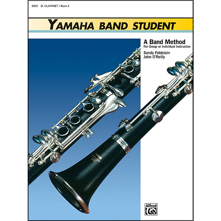 AlfredYamaha Band Student Book 2 B-Flat Clarinet